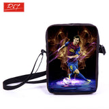 Brazil Brasil Football Soccer olympics Messi Neymar Suarez messenger bag book school teen adult unisex college laptop - Animetee - 1