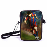 Brazil Brasil Football Soccer olympics Messi Neymar Suarez messenger bag book school teen adult unisex college laptop - Animetee - 19