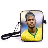 Brazil Brasil Football Soccer olympics Messi Neymar Suarez messenger bag book school teen adult unisex college laptop - Animetee - 35