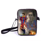 Brazil Brasil Football Soccer olympics Messi Neymar Suarez messenger bag book school teen adult unisex college laptop - Animetee - 36