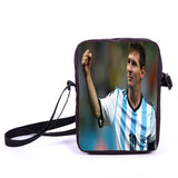 Brazil Brasil Football Soccer olympics Messi Neymar Suarez messenger bag book school teen adult unisex college laptop - Animetee - 6