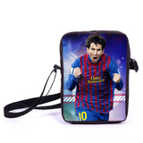 Brazil Brasil Football Soccer olympics Messi Neymar Suarez messenger bag book school teen adult unisex college laptop - Animetee - 28