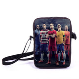 Brazil Brasil Football Soccer olympics Messi Neymar Suarez messenger bag book school teen adult unisex college laptop - Animetee - 34