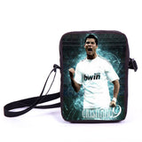 Brazil Brasil Football Soccer olympics Messi Neymar Suarez messenger bag book school teen adult unisex college laptop - Animetee - 24