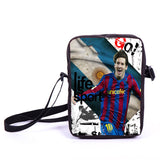 Brazil Brasil Football Soccer olympics Messi Neymar Suarez messenger bag book school teen adult unisex college laptop - Animetee - 32