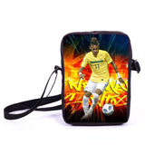 Brazil Brasil Football Soccer olympics Messi Neymar Suarez messenger bag book school teen adult unisex college laptop - Animetee - 13
