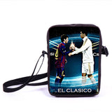 Brazil Brasil Football Soccer olympics Messi Neymar Suarez messenger bag book school teen adult unisex college laptop - Animetee - 16