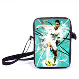 Brazil Brasil Football Soccer olympics Messi Neymar Suarez messenger bag book school teen adult unisex college laptop - Animetee - 18