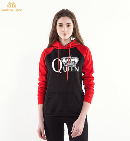Cool Queen Kawaii Hoodies 2017 New Sweatshirts Women Hoodie Winter Kpop Pink Fleece Warm Harajuku Female Raglan Long Sleeve HoodedAT_93_12