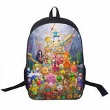 Adventure Time Backpack For Teenager Anime Monster High Backpacks Kids Schoolbags Boys Girls School Bags Daily Backpack Book Bag - Animetee - 4