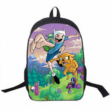 Adventure Time Backpack For Teenager Anime Monster High Backpacks Kids Schoolbags Boys Girls School Bags Daily Backpack Book Bag - Animetee - 14