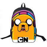 Adventure Time Backpack For Teenager Anime Monster High Backpacks Kids Schoolbags Boys Girls School Bags Daily Backpack Book Bag - Animetee - 9