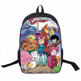Adventure Time Backpack For Teenager Anime Monster High Backpacks Kids Schoolbags Boys Girls School Bags Daily Backpack Book Bag - Animetee - 5