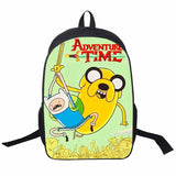 Adventure Time Backpack For Teenager Anime Monster High Backpacks Kids Schoolbags Boys Girls School Bags Daily Backpack Book Bag - Animetee - 19