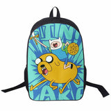 Adventure Time Backpack For Teenager Anime Monster High Backpacks Kids Schoolbags Boys Girls School Bags Daily Backpack Book Bag - Animetee - 24