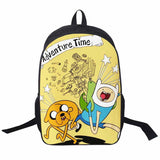 Adventure Time Backpack For Teenager Anime Monster High Backpacks Kids Schoolbags Boys Girls School Bags Daily Backpack Book Bag - Animetee - 26