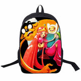 Adventure Time Backpack For Teenager Anime Monster High Backpacks Kids Schoolbags Boys Girls School Bags Daily Backpack Book Bag - Animetee - 23