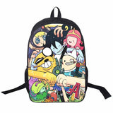 Adventure Time Backpack For Teenager Anime Monster High Backpacks Kids Schoolbags Boys Girls School Bags Daily Backpack Book Bag - Animetee - 11