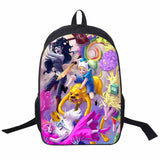 Adventure Time Backpack For Teenager Anime Monster High Backpacks Kids Schoolbags Boys Girls School Bags Daily Backpack Book Bag - Animetee - 21