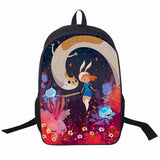 Adventure Time Backpack For Teenager Anime Monster High Backpacks Kids Schoolbags Boys Girls School Bags Daily Backpack Book Bag - Animetee - 16