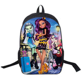 Adventure Time Backpack For Teenager Anime Monster High Backpacks Kids Schoolbags Boys Girls School Bags Daily Backpack Book Bag - Animetee - 28