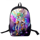 Adventure Time Backpack For Teenager Anime Monster High Backpacks Kids Schoolbags Boys Girls School Bags Daily Backpack Book Bag - Animetee - 13