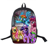 Adventure Time Backpack For Teenager Anime Monster High Backpacks Kids Schoolbags Boys Girls School Bags Daily Backpack Book Bag - Animetee - 17