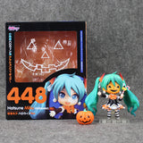 4''10CM Nendoroid Hatsune Miku Halloween Ver. #448 PVC Action Figure Model Collection Toy Hatsune Miku Figure - Animetee - 1