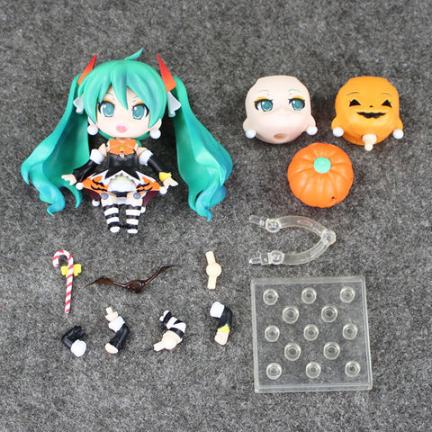 4''10CM Nendoroid Hatsune Miku Halloween Ver. #448 PVC Action Figure Model Collection Toy Hatsune Miku Figure - Animetee - 3