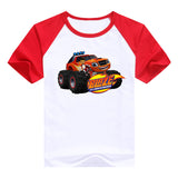 2016 fashion children clothes good quality boys clothing Blaze and the Monster Machines kids t shirt summer cotton T-shirt - Animetee - 1