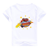 2016 fashion children clothes good quality boys clothing Blaze and the Monster Machines kids t shirt summer cotton T-shirt - Animetee - 17