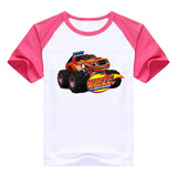 2016 fashion children clothes good quality boys clothing Blaze and the Monster Machines kids t shirt summer cotton T-shirt - Animetee - 8