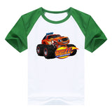 2016 fashion children clothes good quality boys clothing Blaze and the Monster Machines kids t shirt summer cotton T-shirt - Animetee - 19