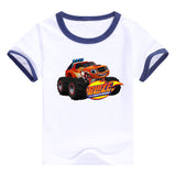 2016 fashion children clothes good quality boys clothing Blaze and the Monster Machines kids t shirt summer cotton T-shirt - Animetee - 13