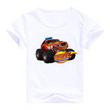 2016 fashion children clothes good quality boys clothing Blaze and the Monster Machines kids t shirt summer cotton T-shirt - Animetee - 3