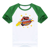 2016 fashion children clothes good quality boys clothing Blaze and the Monster Machines kids t shirt summer cotton T-shirt - Animetee - 10