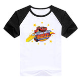 2016 fashion children clothes good quality boys clothing Blaze and the Monster Machines kids t shirt summer cotton T-shirt - Animetee - 9