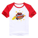 2016 fashion children clothes good quality boys clothing Blaze and the Monster Machines kids t shirt summer cotton T-shirt - Animetee - 14