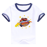 2016 fashion children clothes good quality boys clothing Blaze and the Monster Machines kids t shirt summer cotton T-shirt - Animetee - 18