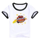 2016 fashion children clothes good quality boys clothing Blaze and the Monster Machines kids t shirt summer cotton T-shirt - Animetee - 6