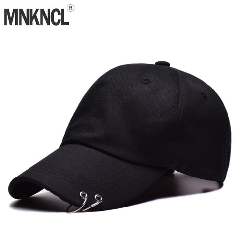 Trendy Winter Jacket Hot selling 2018 BTS LIVE THE WINGS TOUR Fashion K POP Iron Ring Hats adjustable Baseball cap 100% handmade ring AT_92_12