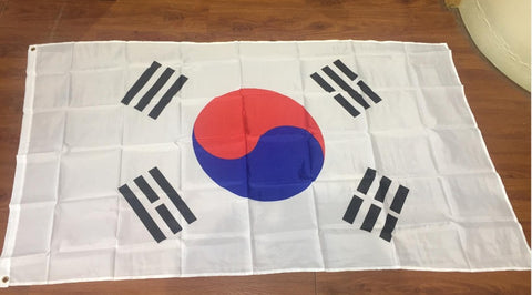 3x5-foot flag hanging Korea, Korean flag banner 150x90 cm large banner celebration - Animetee