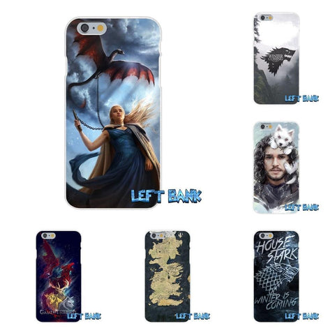 Winter Game of Thrones GOT Jon Snow  GOT Slim Silicone Phone Case For Samsung Galaxy S3 S4 S5 MINI S6 S7 edge S8 Plus Note 2 3 4 5 AT_77_7