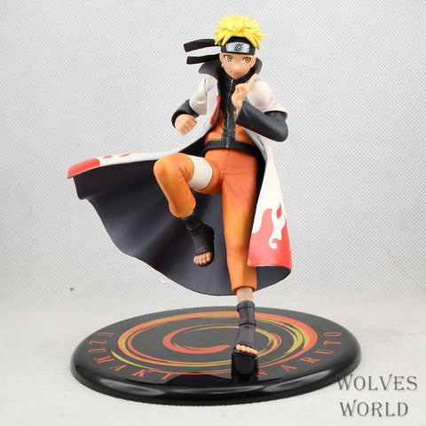 Naruto Sasauke ninja anime  action figure Uzumaki  model doll decoration gift pvc classic collection figurine children for toys 17.5cm AT_81_8
