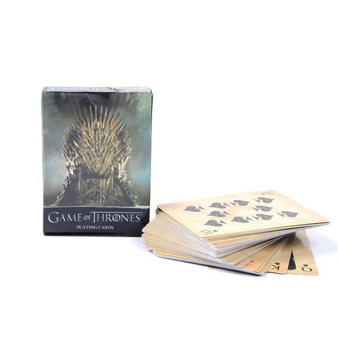 Winter Game of Thrones GOT 1 Set Anime Figure /The Legend  Zelda/Star Trek/ Mass Effect  Collection Cards Paper Figure Toys For Gifts AT_77_7