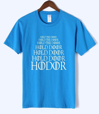 Winter Game of Thrones GOT T-shirt 2018  HODOR summer men's T-shirt 100% cotton fashion t shirt men jersey homme fitness blouse brand top AT_77_7