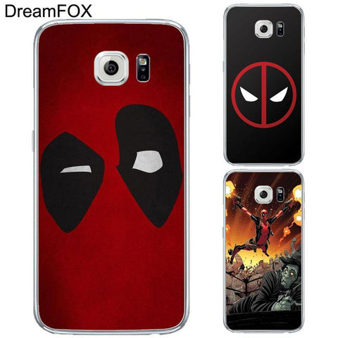 Deadpool Dead pool Taco DREAMFOX L143  Soft TPU Silicone Case Cover For Samsung Galaxy Note S 3 4 5 6 7 8 9 Edge Plus Grand Prime AT_70_6