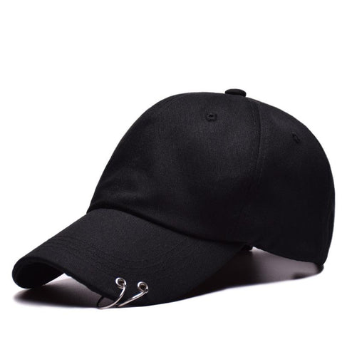 Trendy Winter Jacket BTS Hats With Ring For boys girls Men Women Snapback Adjustable Unisex Casual Baseball caps male bones casquette hip hop gorras AT_92_12