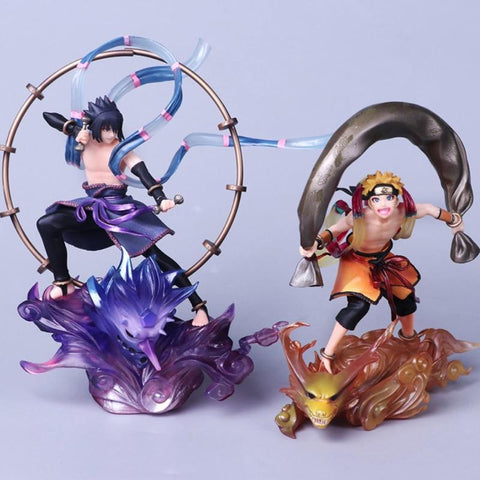 Naruto Sasauke ninja  Shippuden  Sasuke Uchiha pvc Collection Figure 18 cm AT_81_8