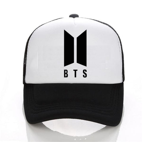 Trendy Winter Jacket new Mens Snapback Hats BTS print Fashion cap Hats Adjustable Baseball Cap Bulletproof Young Age Group SUGA Airport Hat AT_92_12